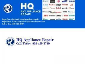 houston TX appliance repair