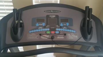Used treadmill