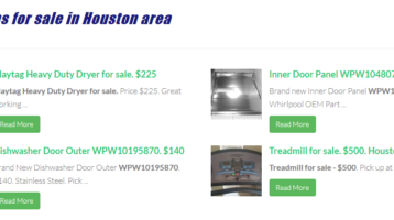 Misc items for sale in Houston area